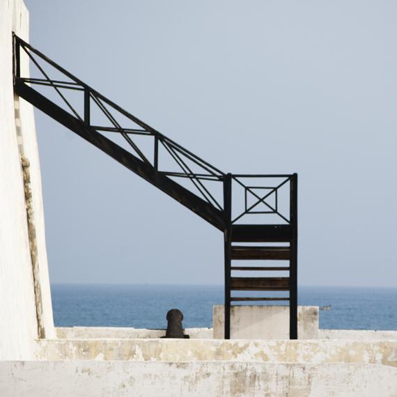 prison stair